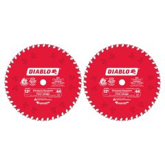 """12"""" x 44 Tooth General Purpose Saw Blade-2/Pack"""