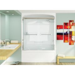 "Bypass™ L-Series Shower Door 51 ¾""-52 ¾"""