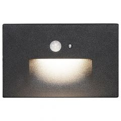 Integrated LED Recessed Motion Step Light 3W 85 Lumens 3000K