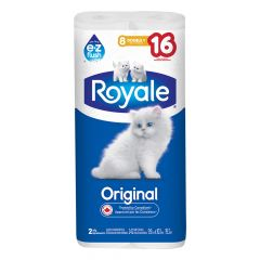 Royale 8 Roll 2 Ply Double Bath Tissue
