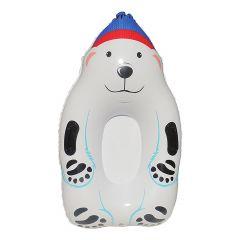 Inflatable Sled Polar Bear