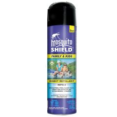 Musquito Shield Kids And Family Formula Aerosol 220g (10% De