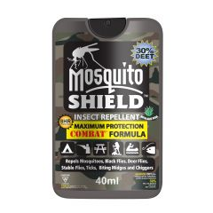 Musquito Shield Combat Formula-40 ml Pump Spray (30% Deet)