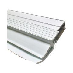Garage Triple Seal Vinyl Door Jamb 10'-White
