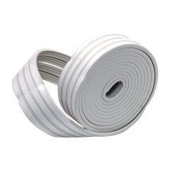 Premium Rubber Foam Tape K Profile-White