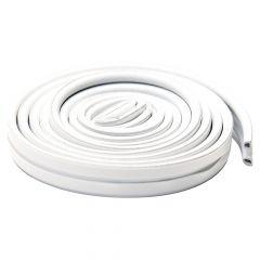 Premium Rubber Foam Tape P Profile-White