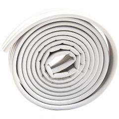Premium Rubber Foam Tape Square Profile-White