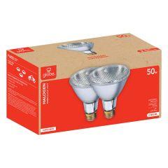 Halogen PAR30 Flood Light 50W Bulb-2/Pack