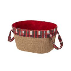 Paper Board Basket With Lining