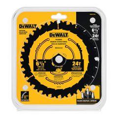 "Dewalt 6-1/2"" 24 Tooth Framing Blade"