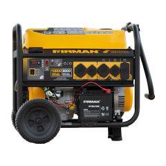 10000/8000W Remote Start Gas Powered Portable Generator