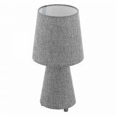 "Carpara 13"" Dual Light Table Lamp-Gray"