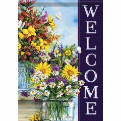 Spring Mix Vases Garden Durasoft Flag