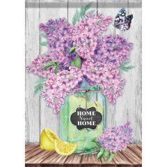 Lilacs in Jar Garden Durasoft Flag