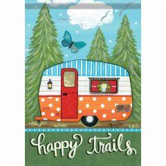 Happy Trails Garden Durasoft Flag