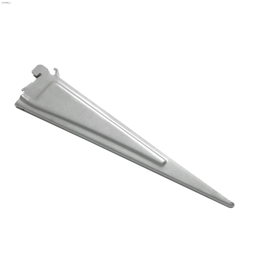 Shelftrack 12 Satin Chrome Wire Shelving Bracket