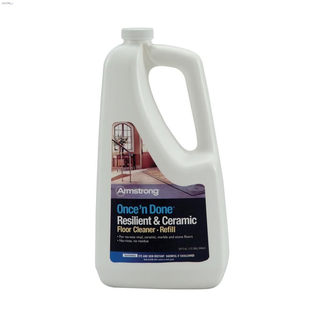946 Ml Clear Once N Done Resilient Ceramic Floor Cleaner