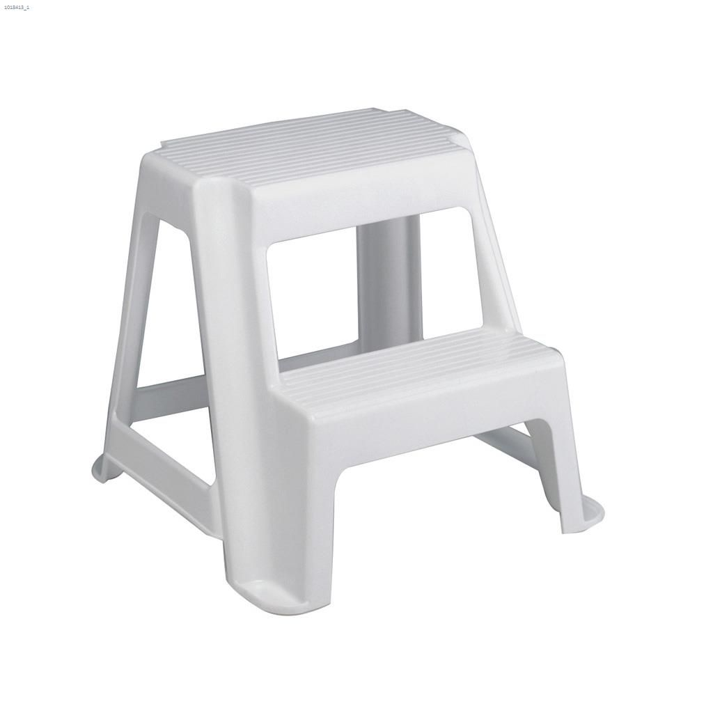 Remarkable White 2 Step Stool Cjindustries Chair Design For Home Cjindustriesco