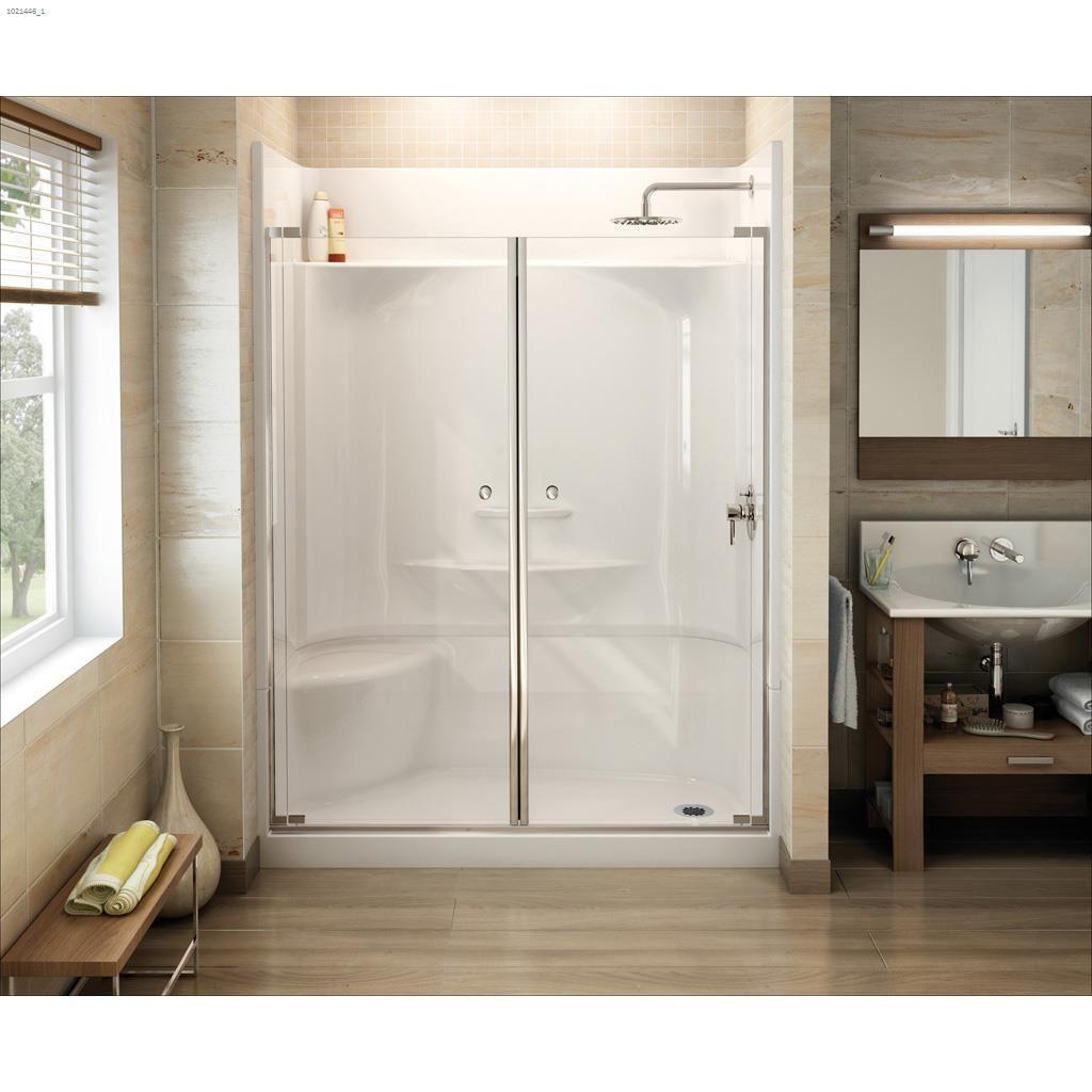 Kent Ca Maax Bath Essence Sh 6030 4 Piece Seat Shower