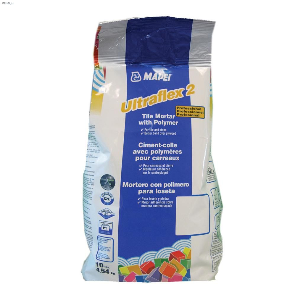 Ultraflex™2 4 54 kg Bag Grey Tile Mortar With Polymer