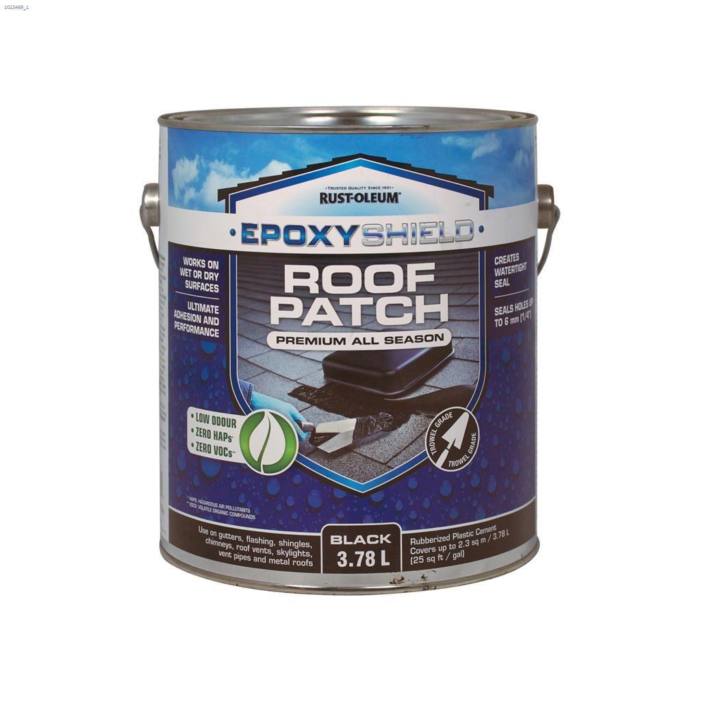 Epoxyshield® 3 78 L Black Repair Roof Patch