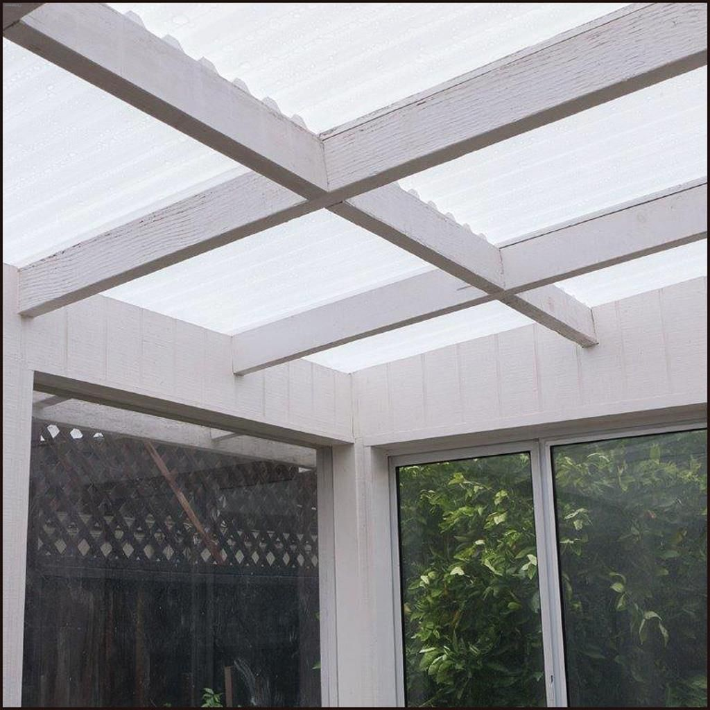 Tuftex® SeaCoaster™ 8' Clear Roof Panel Sheet