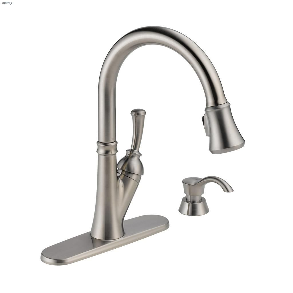 Lever Savile Pull Down Kitchen Faucet