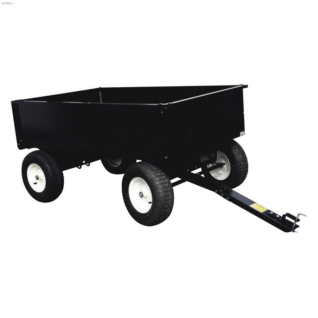 2000 lb Double Axle Trailer/Dump Cart