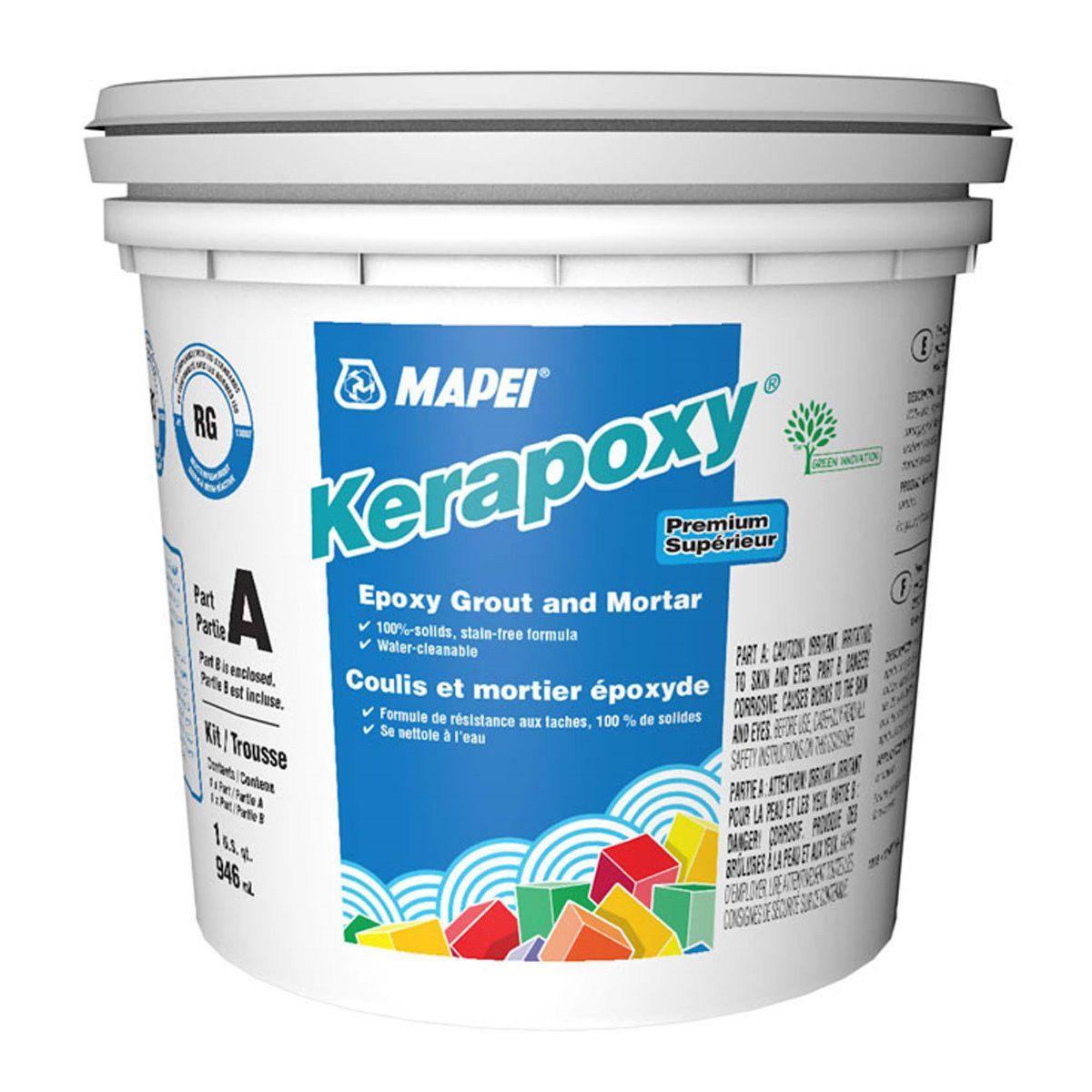 Kerapoxy White 945 mL Epoxy Grout & Mortar