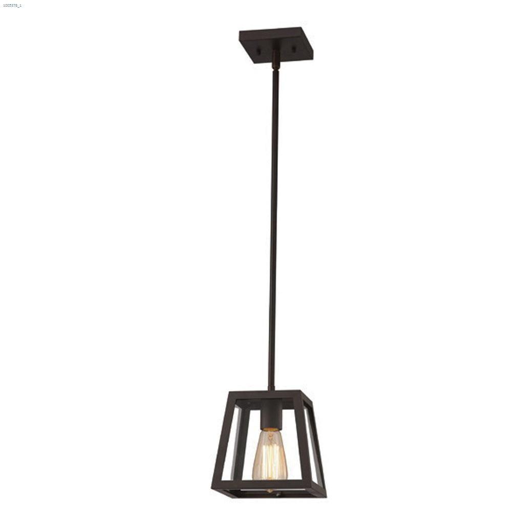 Canarm Flynn 1 Light A 100 Watt Oil Rubbed Bronze Pendant Light Pendant Lighting Kent Building Supplies