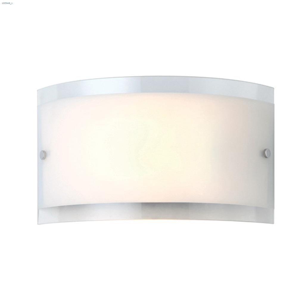 Canarm Logan 1 Light A 100 Watt Chrome Wall Sconce Sconces Kent Building Supplies