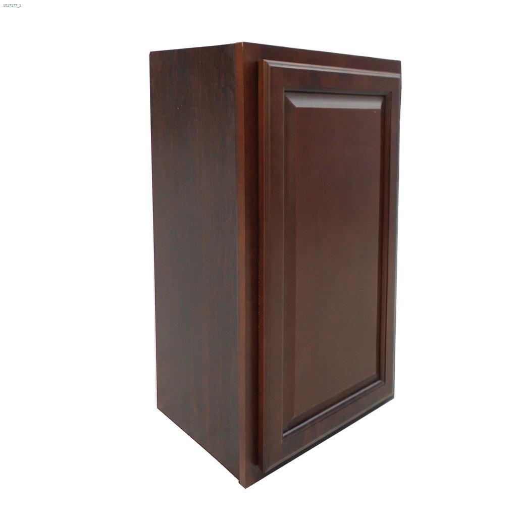 18 X 30 Espresso Wall Cabinet Assembled Kitchen Cabinets Kent Building Supplies
