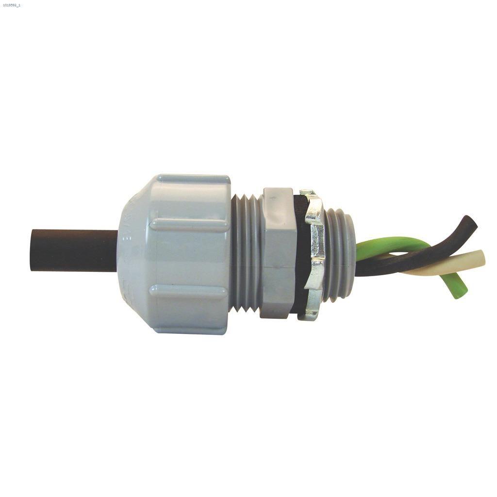 Kent Ca Ipex 1 2 Quot Pvc Gray Strain Relief Connector