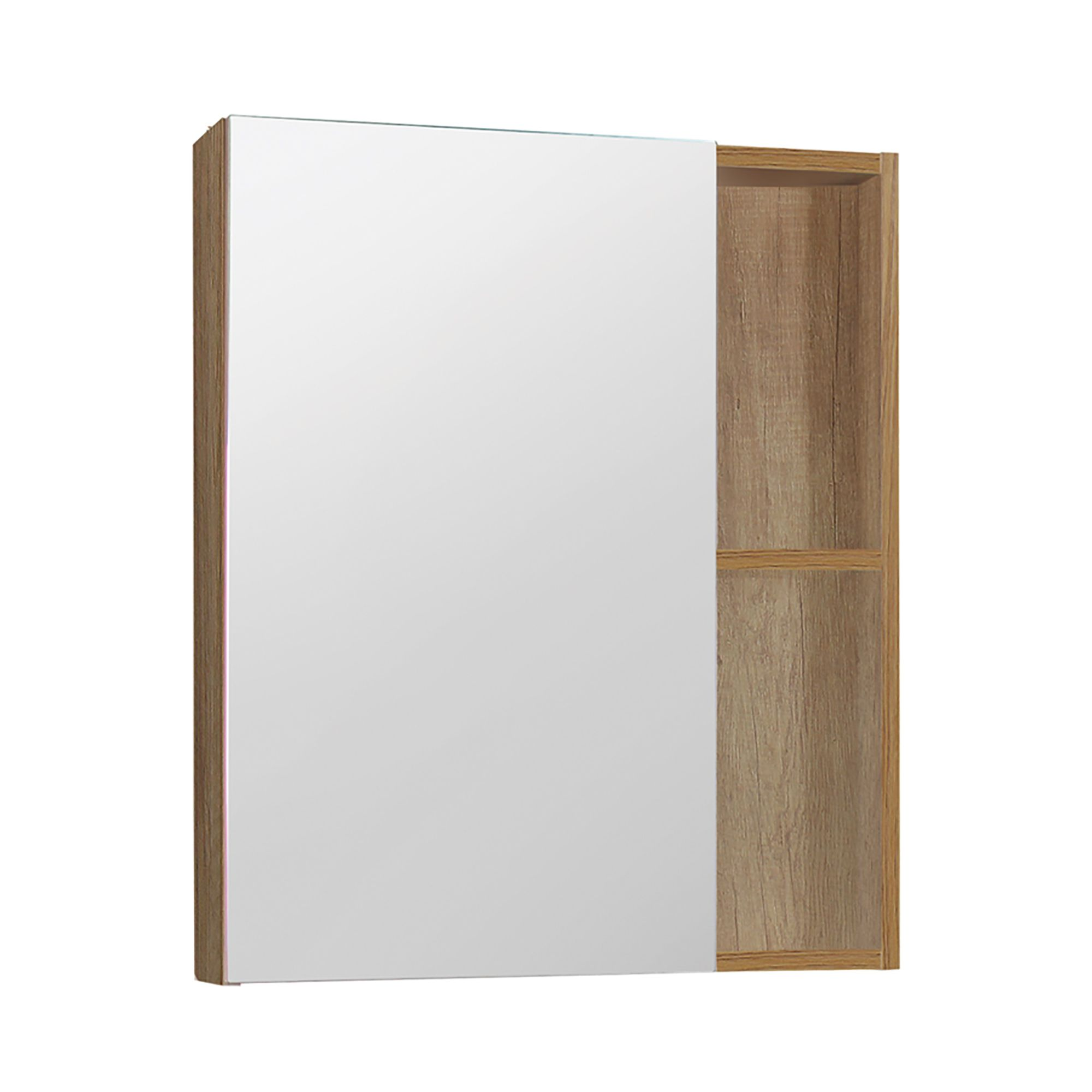 Dolphin Plumbing 24 4 Natural Wooden Finish Medicine Cabinet Bathroom Mirrors Kent Building Supplies