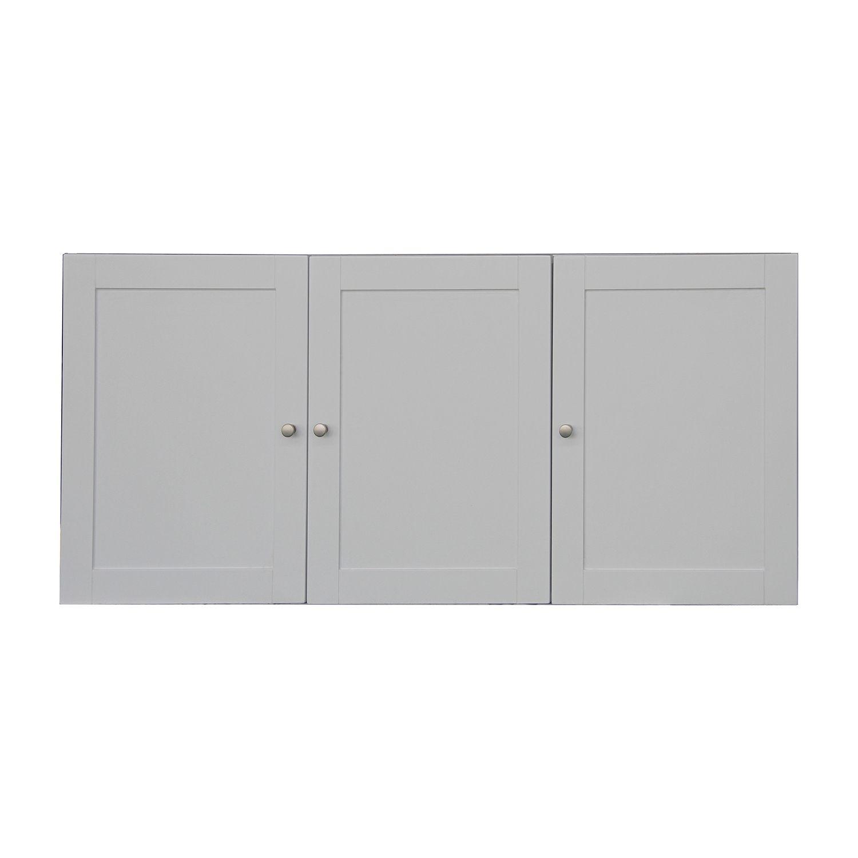 Classic White 12 Door Laundry Storage Cabinet