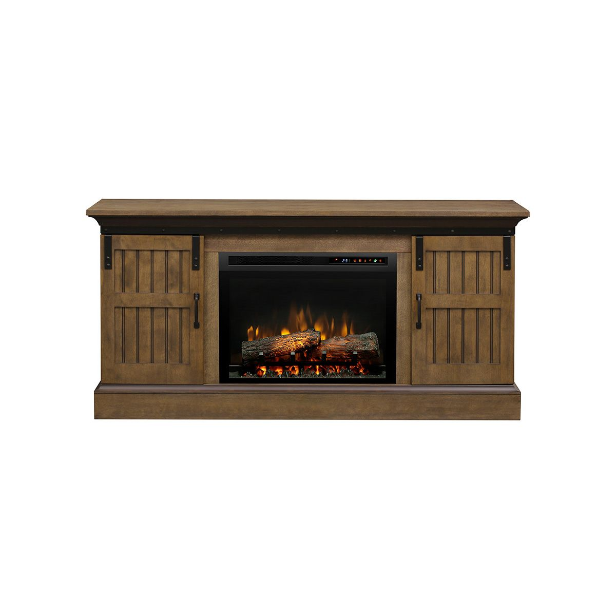 Lincoln Media Console With Electric Fireplace Fireplaces Kent Building Supplies