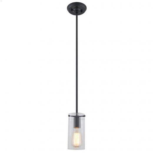 DVI Lighting - Essex 1 Light Carbon 100 Watt