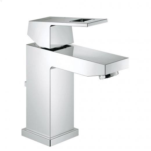 Grohe 1 handle eurocube centerset bathroom faucet kent building supplies your for Grohe eurocube bathroom faucet