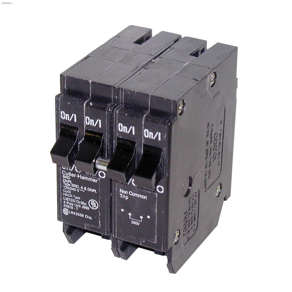 Eaton Industries 4 Pole 2 15 A 1 30 Type Dnpl Plug Circuit Electronic
