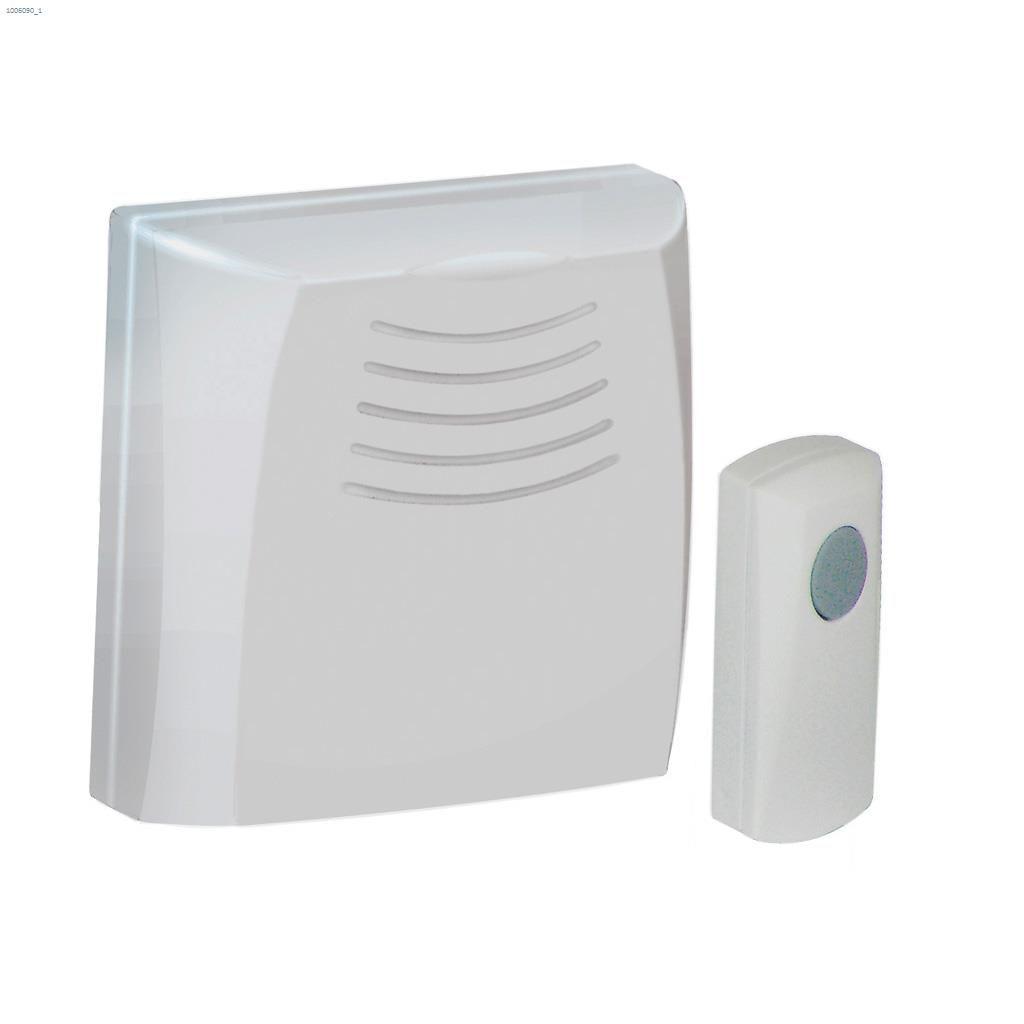 Honeywell International Wireless Door Chime Push Wiring A Doorbell Button