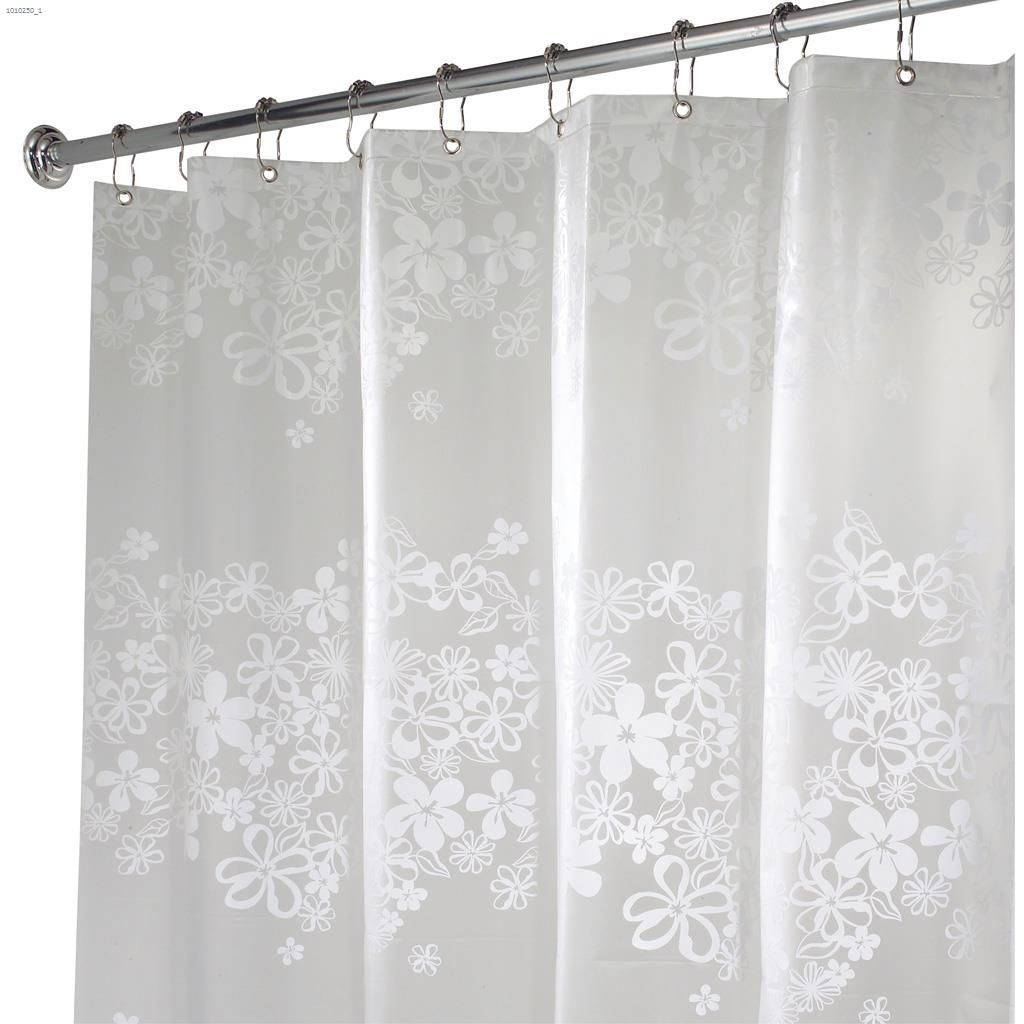 Vinyl Eva Fiore Ecopreme Shower Curtain 72