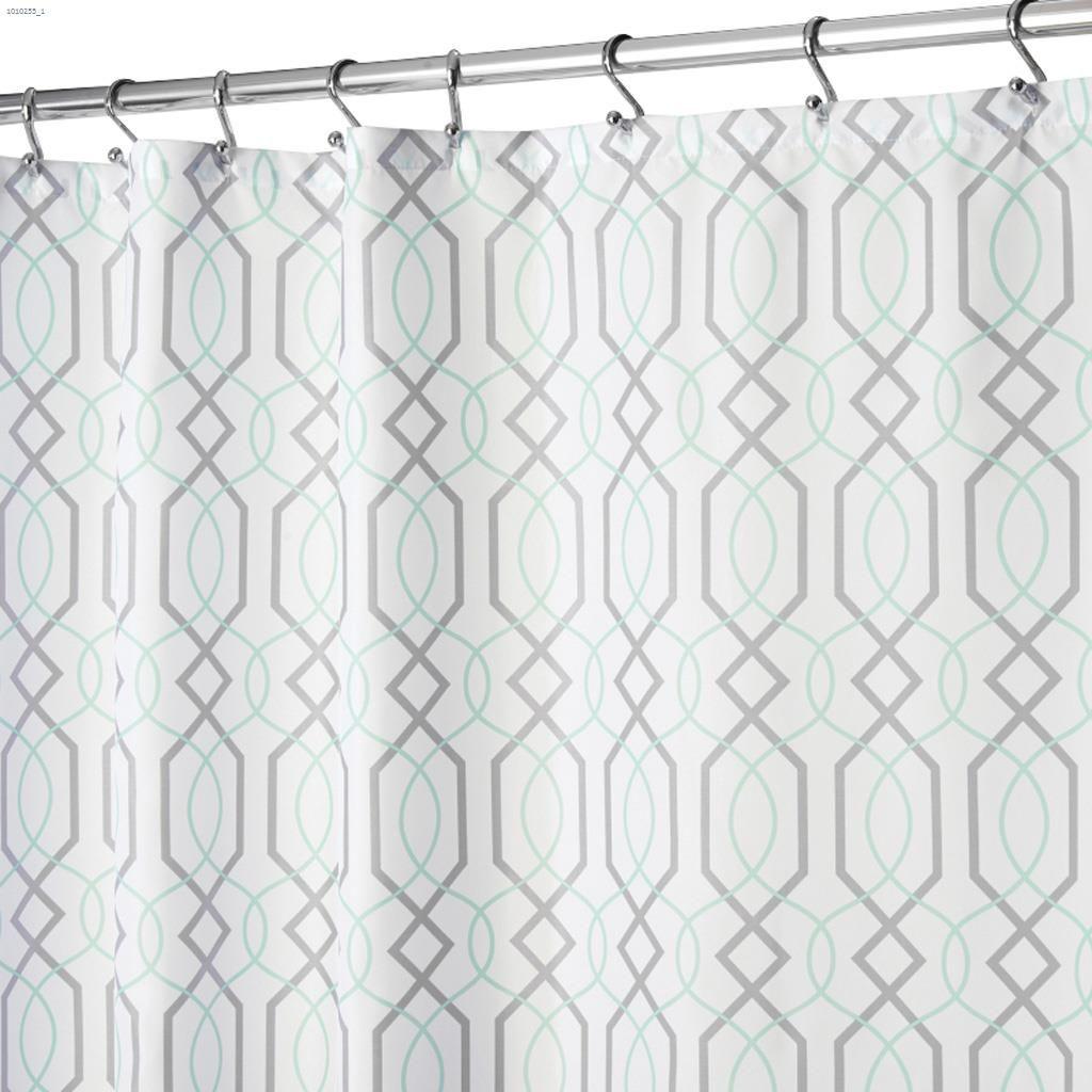 Fabric Lattice Shower Curtain 72