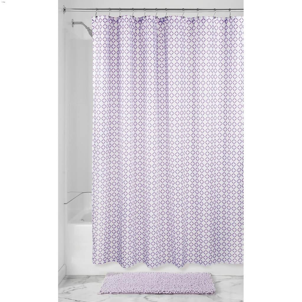 Lavender Fabric Maddie Shower Curtain 72