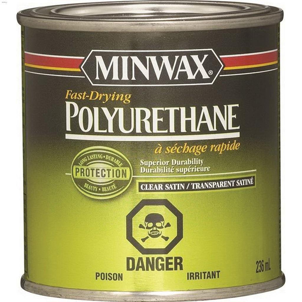 Kent Ca Minwax 946 Ml Satin Clear Fast Drying Polyurethane Wood