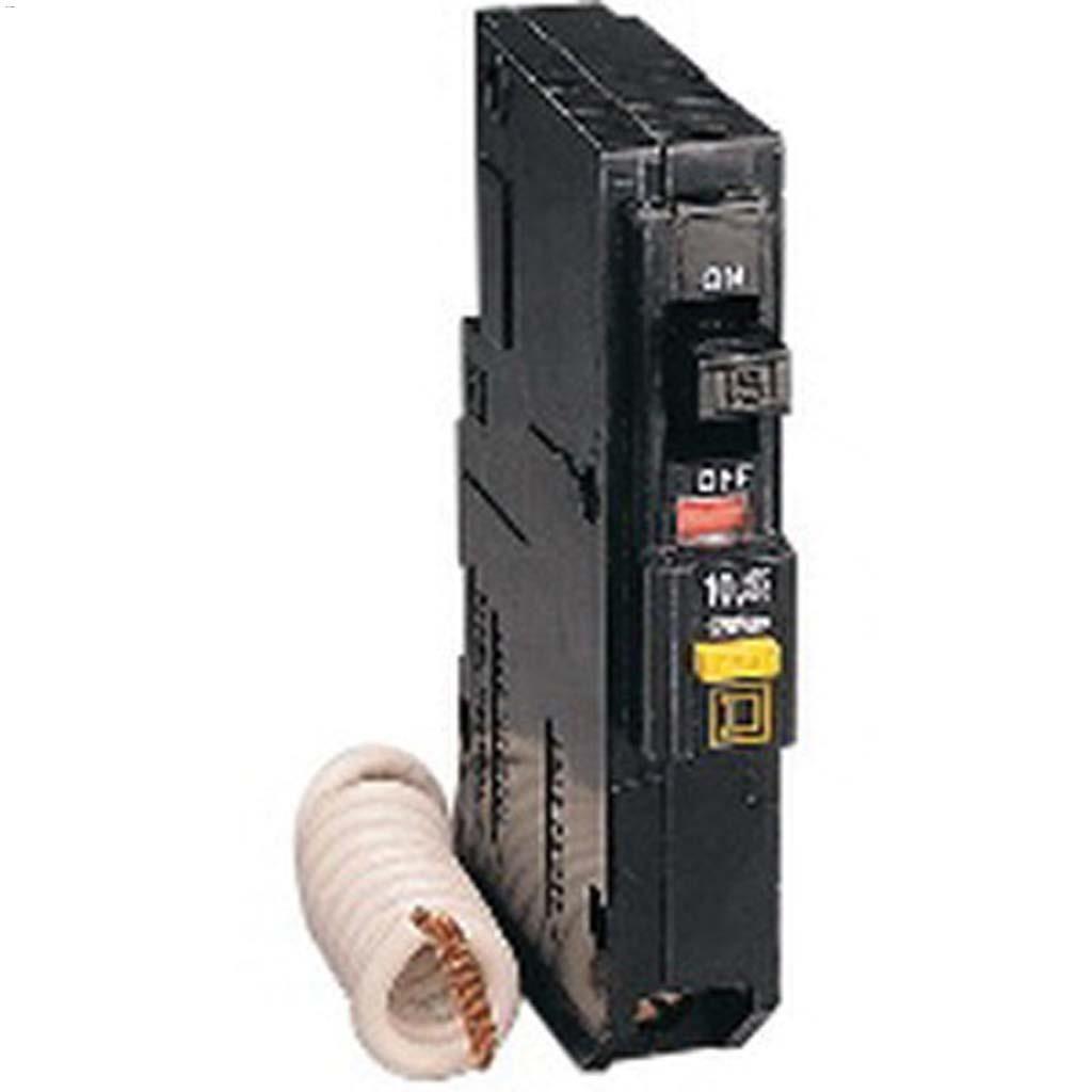 Schneider Electric 1 Pole 15a Plug In Ground Fault Interrupter Circuit Breaker