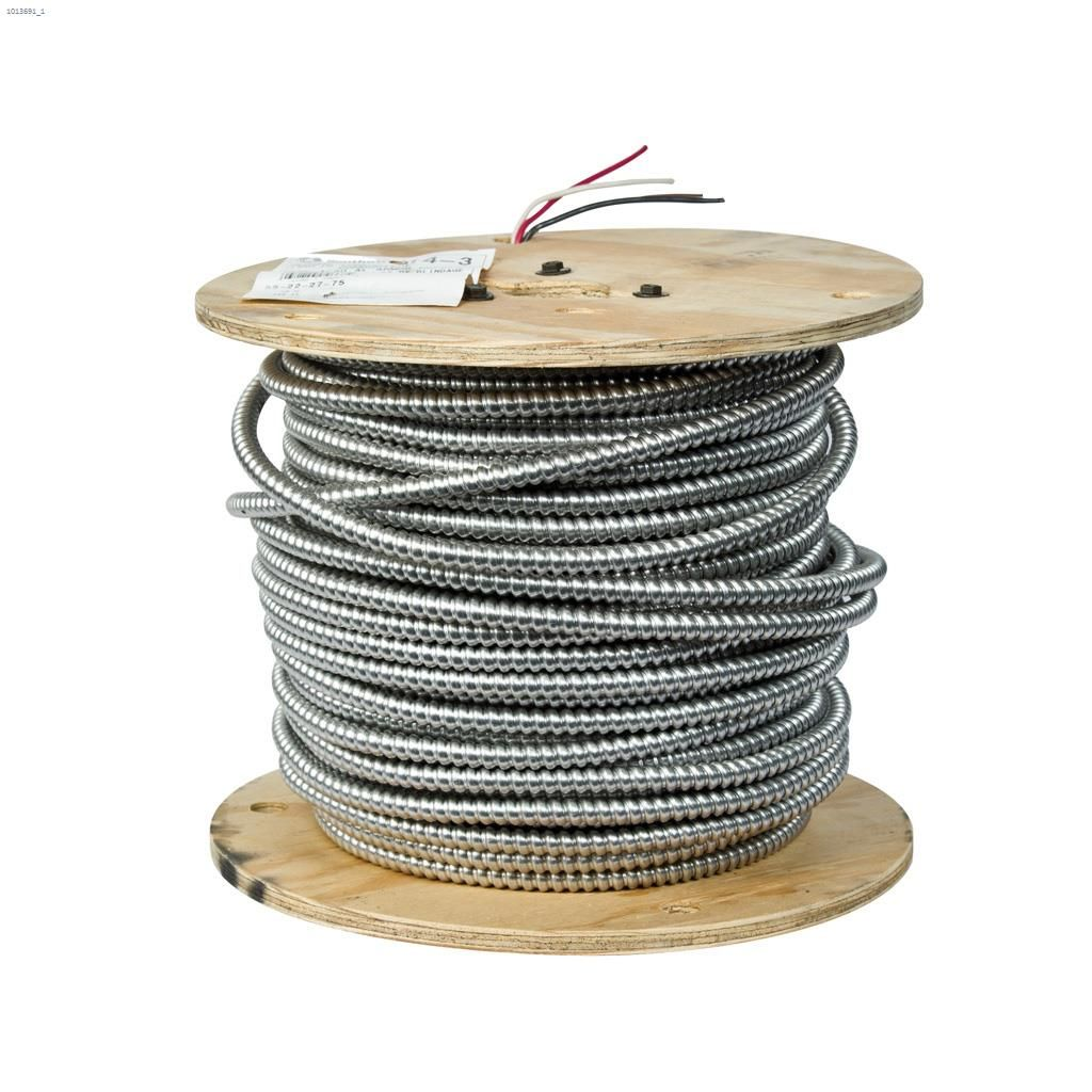 Kent.ca | N/A - 14 AWG 3 Conductor 246\' AC90 Armoured Building Wire ...