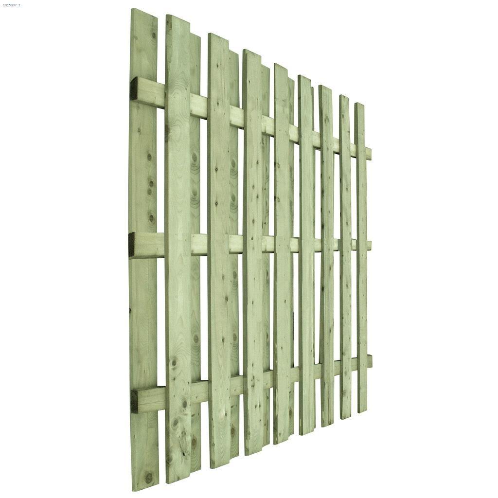 6' X 8' Shadow Box Fence Panel