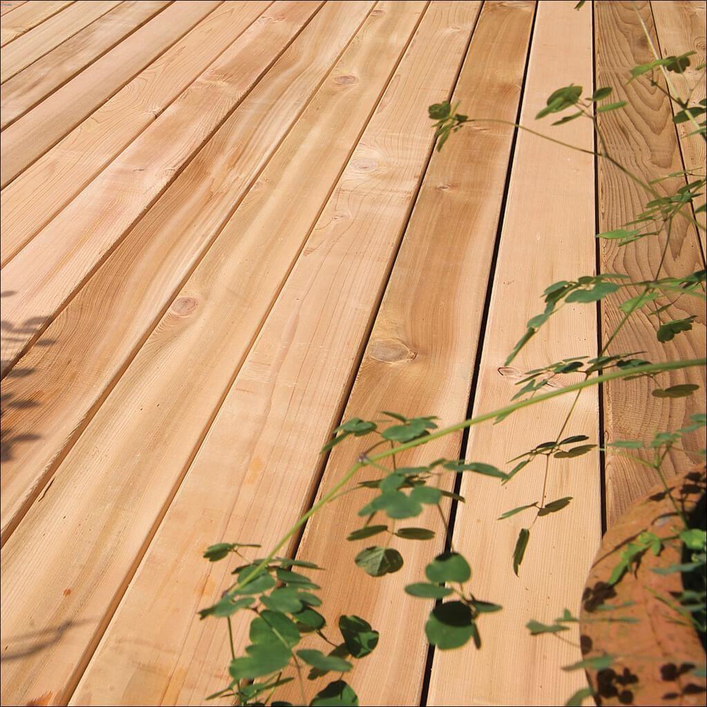 5/4 x 6 x 12' Western Red Cedar Decking