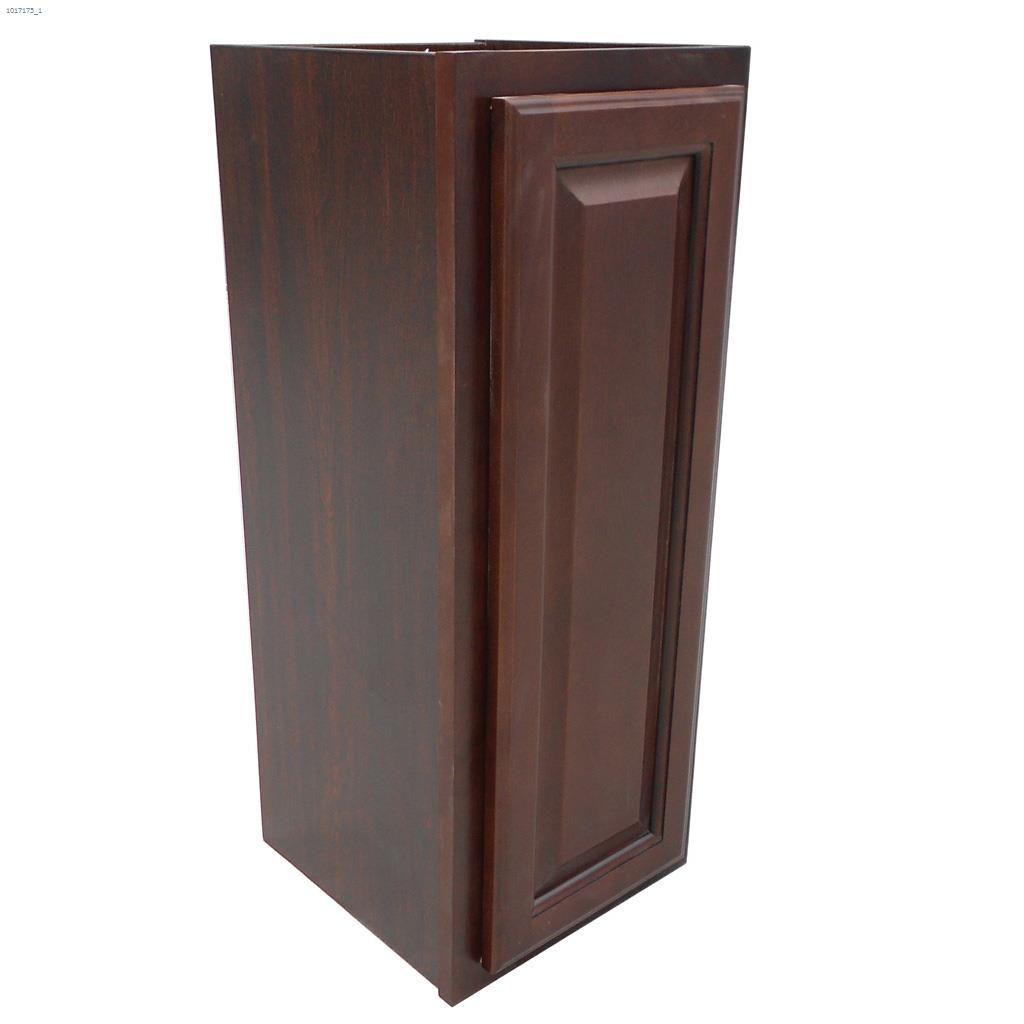 """N/A - 30"""" X 12"""" Espresso Wall Cabinet"""