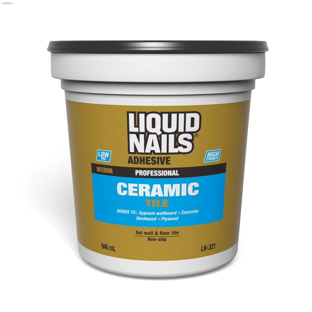Kent Sico Liquid Nails 946 Ml White Ceramic Tile Adhesive